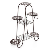 7 Tier Planta Soporte Estante de exhibición Decoración Plantaer Holder Flower Pot Garden Rack