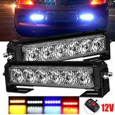 12V 36W 12LED Stroboscope de voiture Flash Grille Lumière Avertissement Danger Lampe de secours Barres Imperméable À L'eau