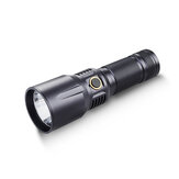 Roxane X6 XPL HI 1850LM 650m Type-C Rechargeable LED Flashlight IPX7 Waterproof USB Charging 26650 Powerful Searchlight