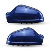 Couvercle de rétroviseur de voiture gauche / droite Gloss Blue pour Opel Vauxhall Astra MK5 2010-2013