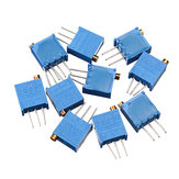 30pcs 3296W 50 ohm Trimpot Trimmer Potentiometer