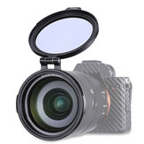 UURig RFS ND 49mm 58mm 67mm 72mm 77mm 82mm Quick Release Switch Bracket Lens Filter for DSLR Camera