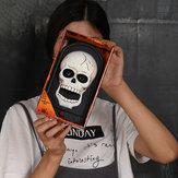 Halloween One-eyed Doorbell Halloween Decorations Skull Pumpkin Horror Doorbell Ghost Party Decorations