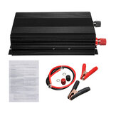 3000W 60Hz Pure Sine Wave Power Inverter DC 12V to 110V Converter Car Home