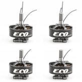 4 ADET Emax ECO Serisi 2207 1900KV 3-6 S RC Drone FPV için Fırçasız Motor Yarış