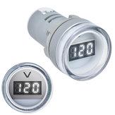 3 stücke Weiß 22 MM AD16 AD16-22DSV Typ AC 60-500 V Mini Spannungsmesser LED Digitalanzeige AC Voltmeter Kontrollleuchte / Kontrolllampe 110 V 220 V