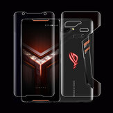 Bakeey Transparent Front Full Back Cover Soft Hydrogel Screen Protector For ASUS ROG Phone 2
