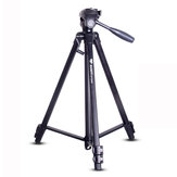 100BTF BY558 Foldable 53CM 151CM Tripod with Removable Ball Head Quick Release Plate Max Load 10KG