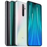 Xiaomi Redmi Note 8 Pro Global Version Câmera traseira quad de 6,53 polegadas 64MP 6GB 64GB NFC 4500mAh Helio G90T Octa Core 4G Smartphone