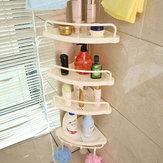 5 Shelf Shower Corner Tension Pole Caddy Organizer Bathroom Bath Storage Rack Tools Kit