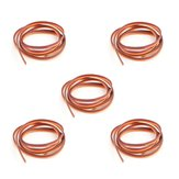 5PCS 5m 60 Cores Servo Extension Wire DuPont Cable Parallel Cable For RC Airplane