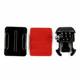 Mount Helmet Curved Sticker Buckle Basic Mount for Gopro Hero 8 7 6 5 4 3 3 Plus 2 1 SJcam Xiaomi Yi Action Camera