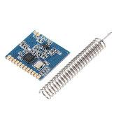 5 adet CMT2300A SI4438 / SI4432 433 MHz LoRa Kablosuz Alıcı-verici Modülü RF Verici Alıcı Bahar Anten Mesafe 1000 M