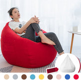 NESLOTH 100 * 120cm Soft Bean Bag Stole Sofa Sofa Cover Indendørs Lazy Sofa For voksne