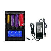 VAPCELL S4 Plus 3A Battery Charger For 18650 26650 21700 18350 Lithium Charger