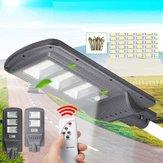 Poste solar 96 / 144LED luz de lâmpada de parede + Controlador de sensor de radar remoto