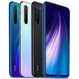 Xiaomi Redmi Note 8 Global Version 6,3 polegadas 48MP Quad Rear Camera 4GB 64GB 4000mAh Snapdragon 665 Octa core 4G Smartphone Celular