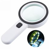 30X 12LED Lights High Magnification Magnifying Glass Double Lens Upgraded Magnifier Lamp Magnifying Glass