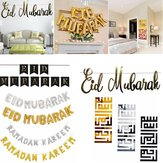 Eid Mubarak Ramadan Kareem Islam Pennant Bunting Home Party Decorations Banner