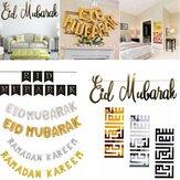 Eid Mubarak Ramadan Kareem Islam Pennant Bunting Home Party Banner Decoraties