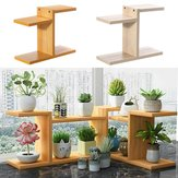 Retro Desktop Flower Stand Chic Indoor Garden Plant Holder Display Planter Rack Home Decorations