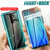 Bakeey HD Full Cover Hydrożel TPU Film Anti-Scratch Soft Front + Rear Screen Protector do Xiaomi Redmi Note 8 Pro