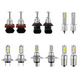 Upgraded 70W 8000LM LED Car Headlights Bulbs H1 H4 H7 H11 9005 9006 1156 6000K White 2PCS
