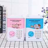 Kids Electronic Piggy Bank ATM Password Money Coin Automatic Safe Saving Box Toys