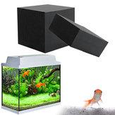 10x10x10cm Purificador de agua Cube Filtro de limpieza de agua de carbón activado Eco-Aquarium