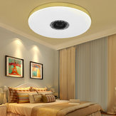 60 W Dim LED RGBW bluetooth Müzik Hoparlör Tavan Işık APP Uzakdan Kumanda Yatak Odası