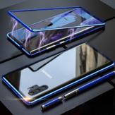 SamsungGalaxyNote10Plus/ Note 10+ 5G用Bakeey Plating磁気吸着金属強化ガラス保護ケース