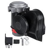 24 V 139dB Dual Tone Elektrische Lufthorn Trompete Pumpe Kompressor Super Laut Für Auto Lkw Motorrad