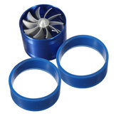 Universal Single Turbocharger Fuel Gas Air Filter Intake Turbine Turbo Fan