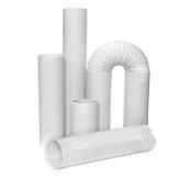 DIA 5 '' Tubo di scarico per climatizzatore con condotto universale a tubo per cappe da cucina