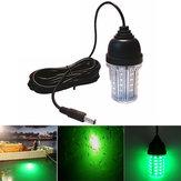 Enusic ™ 12V-24V 10W Lampa wędkarska LED Podwodna lampa do wyszukiwania przynęty Wodoodporna przyciąga krewetki Kalmary Kryl