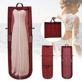 Plegable Boda Vestido Ropa de novia Cubierta de ropa de mano Almacenamiento a prueba de polvo Bolsa