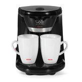 Mini Elektrikli Damla Kahve Makinesi Ev Yarı Otomatik Bira Çay Pot Amerikan Kahve Makinesi Espresso