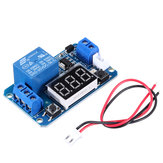 5V Trigger وقت Moday Relay Module with LED رقمي عرض 0-999s 0-999min 0-999H Work-delay / Delay-work