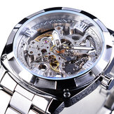 Forsining GMT1091 ضوء Luxury 3ATM ضد للماء Luminous عرض Fashion Men Watch Watch