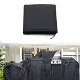 210D Imperméable UV Protecteur Barbecue Couverture Camping En Plein Air Barbecue Grill Grill Sacs De Stockage En Pincique-150CM / 170CM / 190CM