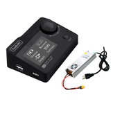 ToolkitRC M8 DC 300W 15A Battery Balance Charger Discharger With LANTIAN 400W Power Supply
