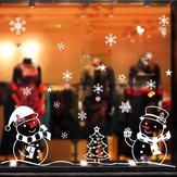 Miico XL701 Autocollant de Noël Décoration de la maison Autocollant Fenêtre et Sticker Mural Shop Autocollants Décoratifs