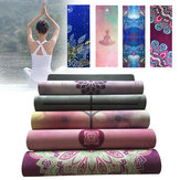 KALOAD 1.5mm Nature Rubber Yoga Mat ممارسة Gym Towerl سليمالجسم Mats