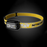 NITECORE NU17 130LM Headlamp USB Rechargeable 5 Modes IP66 Waterproof Camping Hiking Cycling Fishing Light