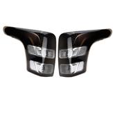 Freno de giro de la luz trasera izquierda / derecha del coche Lámpara negro para Mitsubishi Triton L200 2015-2018