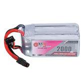 Gaoneng GNB 14.8V 2000mAh 130C 4S Lipo Batterie XT60 Stecker für RC FPV Raing Drone