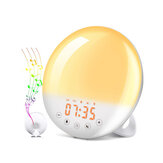 Bakeey WIFI FM Radio LED Light Alarm Clock Work with Alexa Google For Smart Home