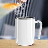 [新バージョン]自動攪拌マジックマグお湯半導体発電腹部磁気コーヒーミキシングカップ食器セラミックカップ