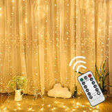 3M*3M USB 8 Modes 300LED Curtain Fairy Wire String Light Christmas Party Decor Holiday Wedding Supply