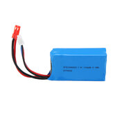 Wltoys 7.4V 1100mAh 20C 2S Lipo Battery JST Plug for A949 A959 A969 A979 1/18 RC Vehicle
